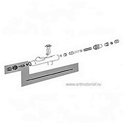 Комплект распыл. - 0,2мм для Evo/Focus/Grafo