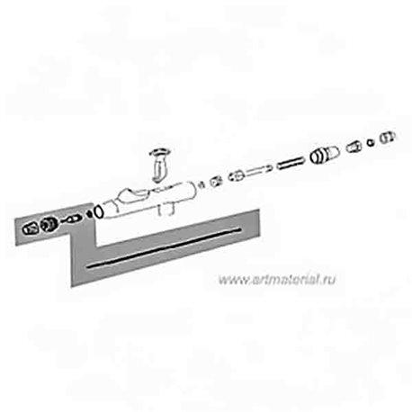 Комплект распылительный для DH-810/0,5мм (сопло/возд. сопло/игла)