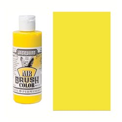 Краска Jacquard Airbrush Color желтый прозрачный 118мл