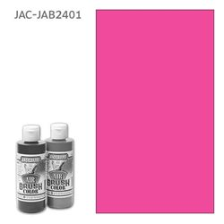 Краска Jacquard Airbrush Color розовый флуоресцентный 118мл