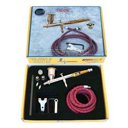Комплект в чемодане (компрес. безмасл. авт. AC-500MB+шланги, держат.,маномерт)