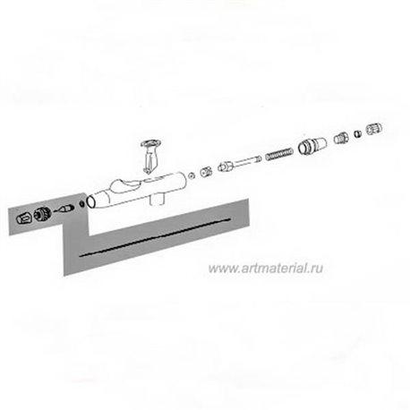 Комплект расп. (игла, колпачок, сопло, возд. сопло) 0.3мм (nickel) для Hansa 481/581/681