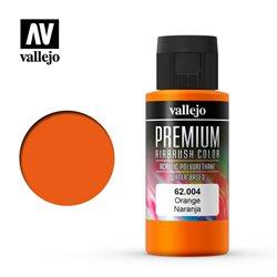 Оранжевая. Краска акрил-уретановая Vallejo Premium