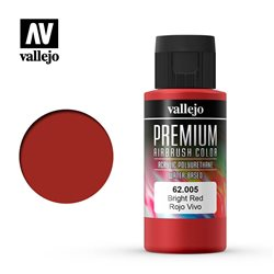 Красная яркая. Краска акрил-уретановая Vallejo Premium