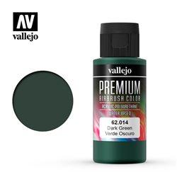 Зеленый темный. Краска акрил-уретановая Vallejo Premium