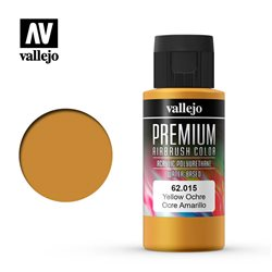 Охра желтая краска акрил-уретановая Vallejo Premium
