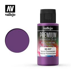 Фиолетовый флуор.Краска акрил-уретановая Vallejo Premium
