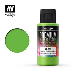 Зеленый флуор.Краска акрил-уретановая Vallejo Premium