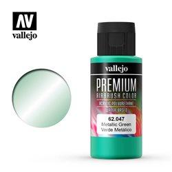 Металлик зеленый.Краска акрил-уретановая Vallejo Premium