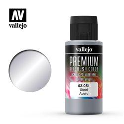 Сталь.Краска акрил-уретановая Vallejo Premium