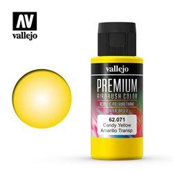 Желтый candy.Краска акрил-уретановая Vallejo Premium
