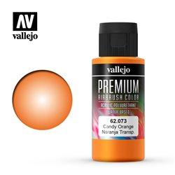 Оранжевый candy.Краска акрил-уретановая Vallejo Premium