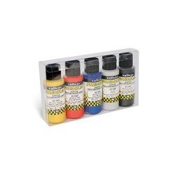 Набор красок металлик Vallejo Premium /5х60мл.