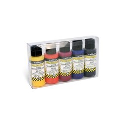 Набор прозрачных красок Vallejo Premium /5х60мл.