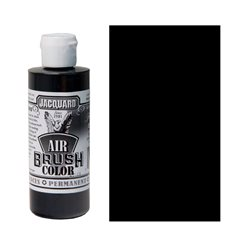 Краска Jacquard Airbrush Color черный прозрачный 118мл