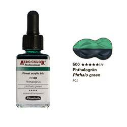 Зеленый фтало/краска для аэрографии Schmincke Aero Color Professional