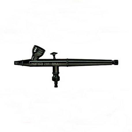 Аэрограф Hansa 281-автомат black (сопло 0.2мм)