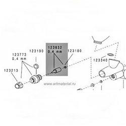 Сопло в сборе 0,4мм для Evolution/Colani/Grafo