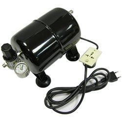Ресивер 2.5л. автоматический НР1/8''- НР1/8'' регулятор давления 0-7bar/реле давления 220в\ 2,3-3bar