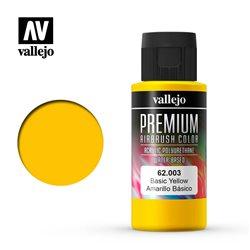 Желтая основная. Краска акрил-уретановая Vallejo Premium