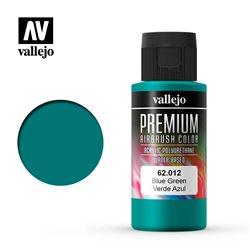 Сине-зеленая. Краска акрил-уретановая Vallejo Premium/ сине-зеленый
