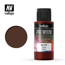 Сепия. Краска акрил-уретановая Vallejo Premium