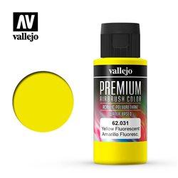 Желтая флуор.Краска акрил-уретановая Vallejo Premium