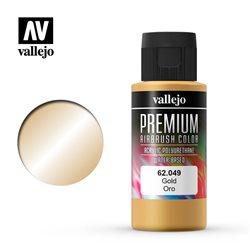 Золото.Краска акрил-уретановая Vallejo Premium