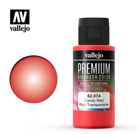 Красный candy.Краска акрил-уретановая Vallejo Premium