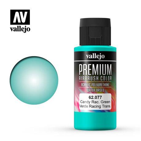 Зеленый candy.Краска акрил-уретановая Vallejo Premium