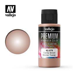 Коричневый candy.Краска акрил-уретановая Vallejo Premium