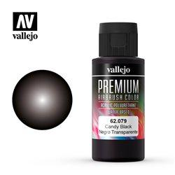 Черный candy.Краска акрил-уретановая Vallejo Premium
